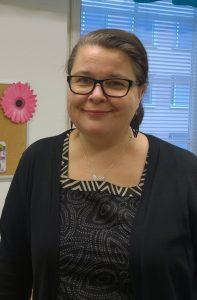 Johanna Lajunen, viittomakielisten muistiasiantuntija Memo-ohjelma Kuurojen Palvelusäätiö